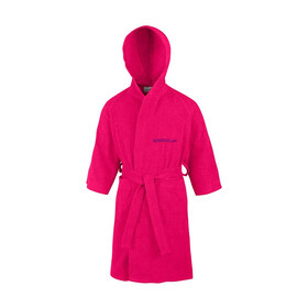 speedo Microterry Bathrobe Juniors Rasperry Fill